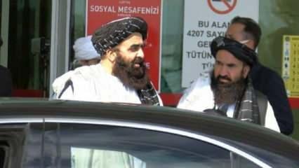 Taliban heyeti Türkiye'ye geldi! Bir açıklama da Rusya'dan