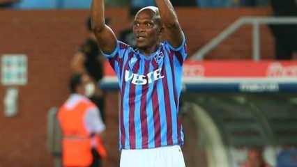 Trabzonspor'a Nwakaeme'den kötü haber!