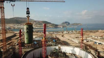 Akkuyu NGS'de önemli gelişme! Türkiye'de bir ilk olacak