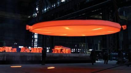Akkuyu NGS'nin 3. ünitesine ait reaktör basınç tankı tabanı üretildi