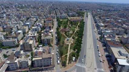 Antalya'da müstakil evler tercih ediliyor