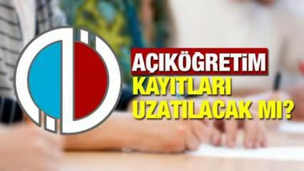 AÖF kayıtları uzadı mı?  Anadolu Üniversitesi güz dönemi sınavlarını online mı yapacak?