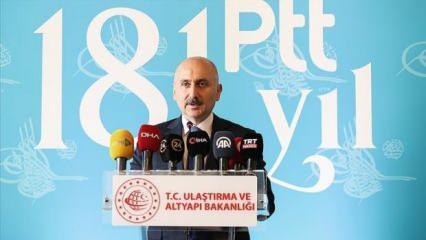 Bakan Karaismailoğlu: PTT her anda milletimizin yanında oldu