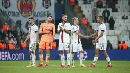 Beşiktaş Avrupa'da kayıp! Son 16 Avrupa maçında 2 galibiyet