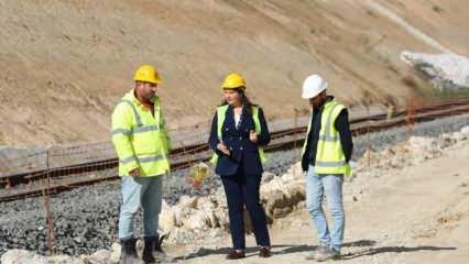 Çerkezköy-Kapıkule etabında çalışmaların yüzde 50'si bitti