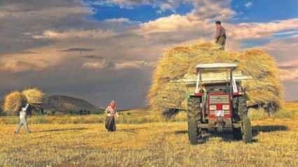 Çiftçi borçlarına erteleme! Ödeme takvimi belli oldu