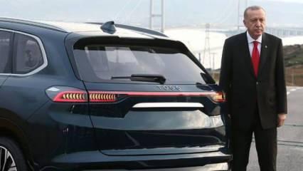 Cumhurbaşkanı Erdoğan'dan, yerli otomobil TOGG açıklaması!