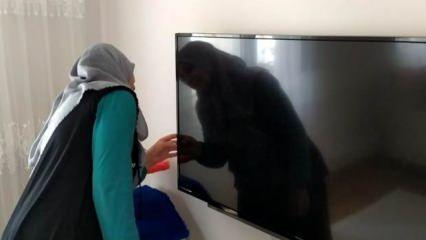 Elazığ'da TV'ye bakan aile gözlerine inanamadı: Toz zannettim