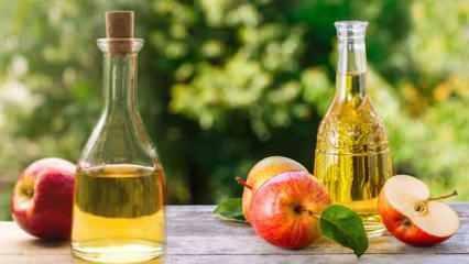 Elma sirkesinin mucizevi faydaları: Sivilceleri kurutuyor, lekelere iyi geliyor!
