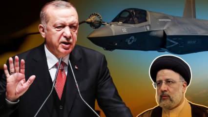 Erdoğan'dan ABD'ye F-35 mesajı: Bir şekilde alacağız! İran'a da 'yanlıştan dönün' çağrısı
