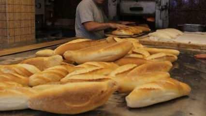 İstanbul'da ekmeğe zam yolda