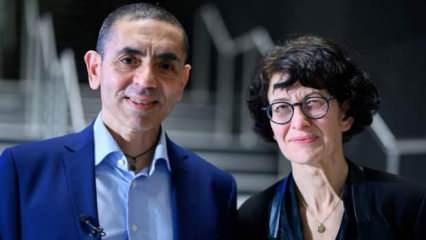 Özlem Türeci ve Uğur Şahin'den kanser aşısı müjdesi