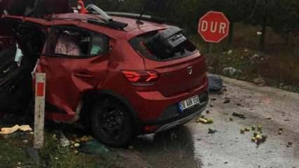 Samsun'da feci kaza: Ölü ve yaralılar var