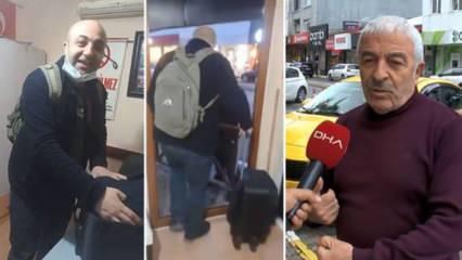 Taksicilerin alicengiz oyunu! Bagajda para dolu valiz bulunması olayı yalan çıktı