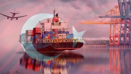 Türkiye'den ihracat atağı! Dünya devleri ilk sırada yer alıyor