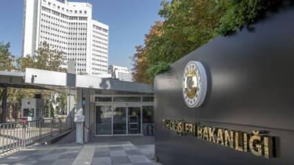 Bakanlığa çağrılan ABD dahil 10 ülkenin büyükelçileri hakkında Dışişleri'nden açıklama