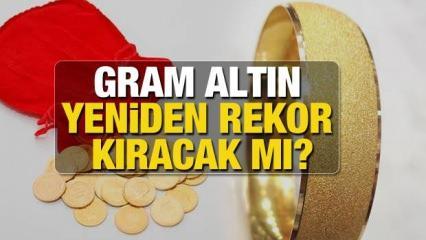 Zirveyi gören Gram Altın 600 TL olacak mı? Gram Altın Çeyrek Altın ONS ne kadar yükselecek?