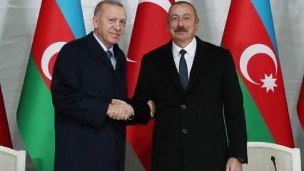 """Erdoğan-Aliyev'den son dakika açıklamaları! """"Türk dünyasını birleştirecek"""" deyip duyurdu.."""