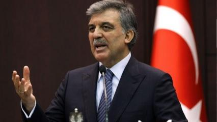 Erdoğan'ın '10 büyükelçi' talimatı sonrası Abdullah Gül'den skandal açıklama