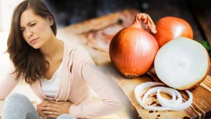 Soğan mideme dokundu ne yapmalıyım? Soğan yedikten sonra mide ağrısına ne iyi gelir?