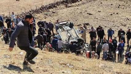 Son dakika: Bingöl'de feci kaza! Ölü ve yaralılar var