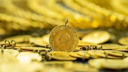Altın fiyatları yeniden düşüşe geçti! 1 Ocak: Çeyrek altın Gram altın Bilezik alış satış fiyatı