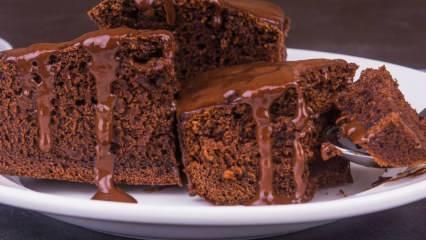 Çikolata soslu browni kilo aldırır mı? Evde diyete uygun pratik ve lezzetli Browni tarifi