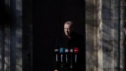 Erdoğan'dan CHP'li ismin başörtüsü skandalına tepki! Sözcü'nün Ayasofya manşetine net cevap