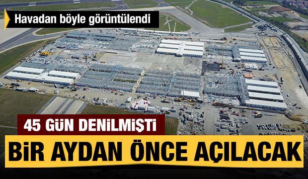 Atatürk Havalimanı'nda yapılan salgın hastanesindeki son durum ...