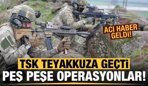 PKK'ya peş peşe operasyonlar! Acı haber geldi...