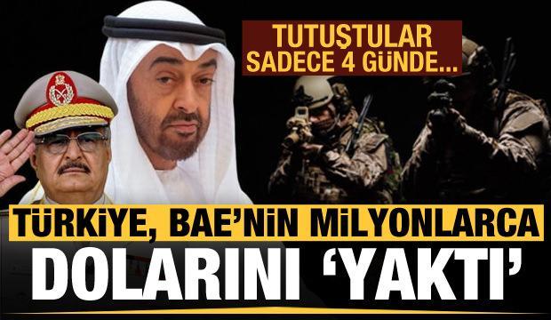 Türkiye, tam 4 günde BAE'nin milyonlarca dolarını 'yaktı'! Tutuştular...