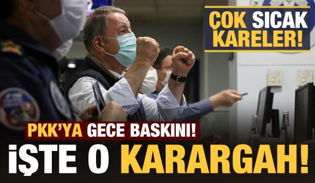 PKK'ya Pençe-Kartal Operasyonu: İşte Operasyon Karargahı!