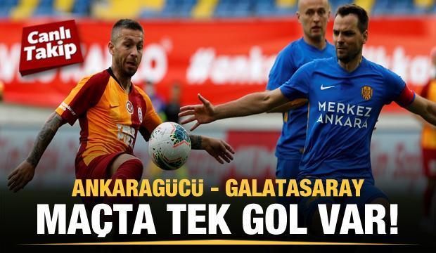 Ankaragücü - Galatasaray! CANLI