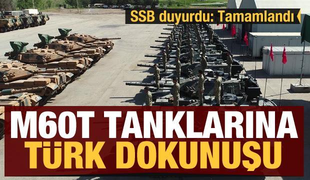 M60T Tanklarına Türk dokunuşu!