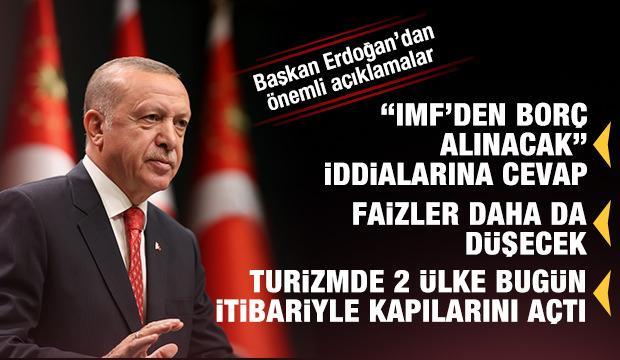 Kritik kabine toplantısı sonrası Başkan Erdoğan'dan önemli açıklamalar