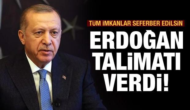 Başkan Erdoğan'dan Giresun talimatı