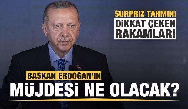 Son dakika: Başkan Erdoğan'ın müjdesi ne olacak? Sürpriz tahmin...