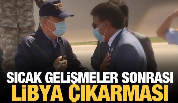 Sıcak gelişmeler sonrası Türkiye'den Libya çıkarması