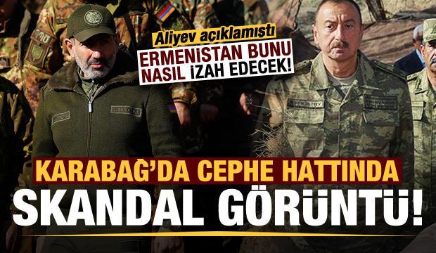 Son dakika: Karabağ'da skandal görüntü! Aliyev açıklamıştı, Ermenistan bunu nasıl izah edecek..