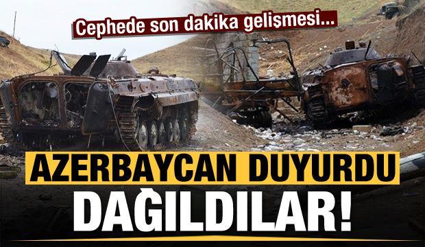 Son dakika haberi: Ermeni ordusu dağıldı! Azerbaycan duyurdu: İkmal yapamıyorlar...