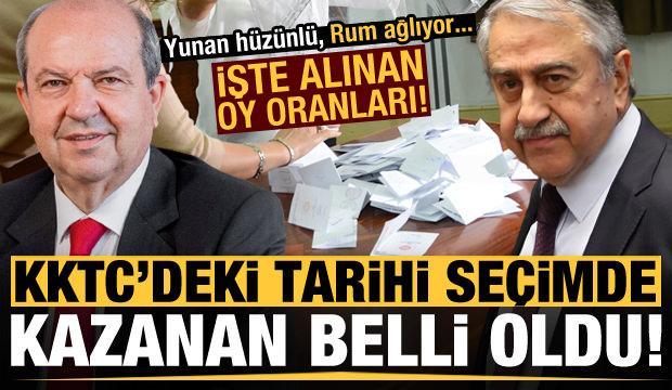 Son dakika: KKTC'deki tarihi seçim sonuçlandı! Yeni Cumhurbaşkanı Ersin Tatar seçildi...