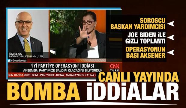 İsmail Ok: İYİ Parti'de bir operasyon var, başı Akşener