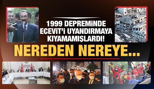 1999 depreminde Ecevit'i uyandırmaya kıyamamışlardı! Nereden nereye...