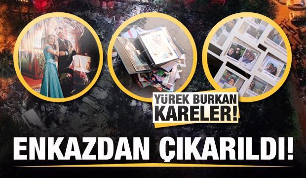 İzmir'de enkazdan çıkan fotoğraflar yürek burktu!