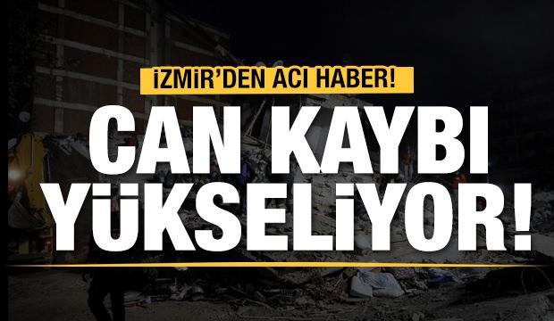 Son dakika: İzmir'deki depremde can kaybı 49'a yükseldi