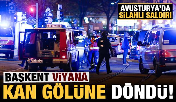 Son dakika: Avusturya'da silahlı saldırı: Çok sayıda ölü ve yaralı var