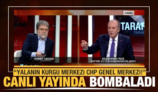 Muharrem İnce: Yalanın kurgu merkezi CHP Genel Merkezi'dir