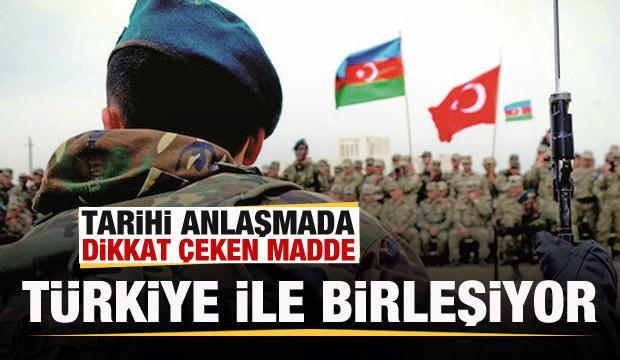 Tarihi zaferde dikkat çeken detay! Türkiye ile birleşiyor!