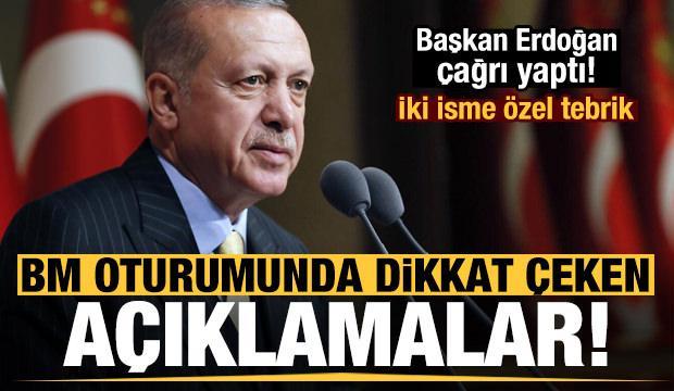 Son dakika: Erdoğan'dan BM oturumunda dikkat çeken açıklamalar!