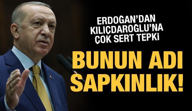 Son dakika: Erdoğan'dan Kılıçdaroğlu'na sert tepki: Bu ne sapkınlıktır?